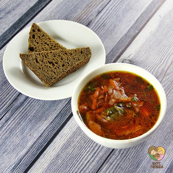 """Суп """"Борщ"""" (Vegan)"""