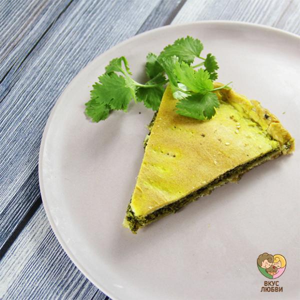 Шпинатный пирог (Vegan\Vegetarian)