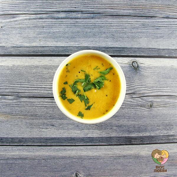 Суп-пюре тыквенный (Vegan)