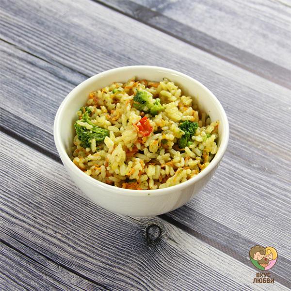 Рис с овощами (Vegan)