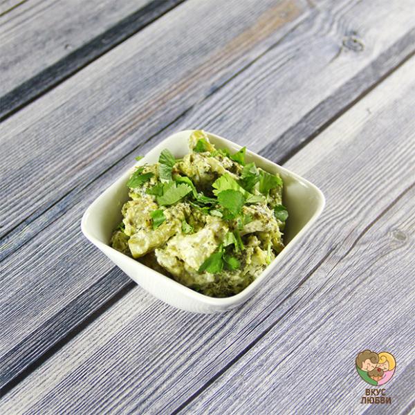 Брокколи в сливочном соусе (Vegan)