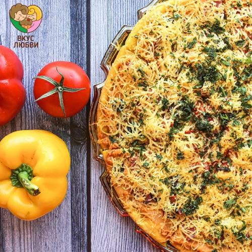 """Пицца """"Овощная"""" (Vegan)"""