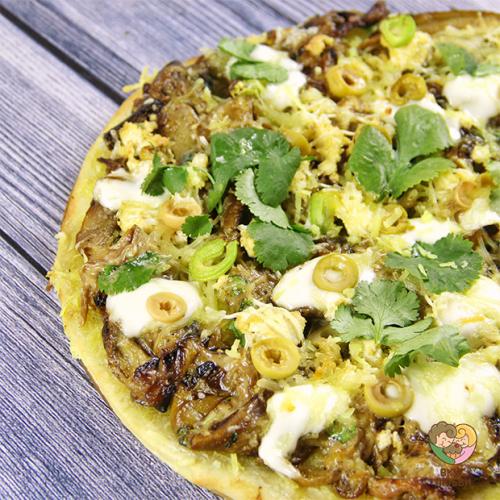 Пицца-жюльен (Vegan\Vegetarian)